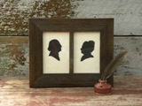 ...George and Martha Silhouettes...