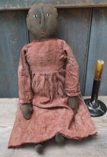 Primitive Cloth Doll - Parsley