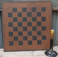 Primitive Large Checkerboard- Chestnut